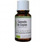 Huile essentielle de cannelle  de Ceylan bio -Luxaromes- 10ml