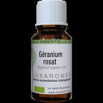 Huile essentielle de géranium-rosat bio- Peau, moustique, acné - France Belgique Luxembourg- 10ml