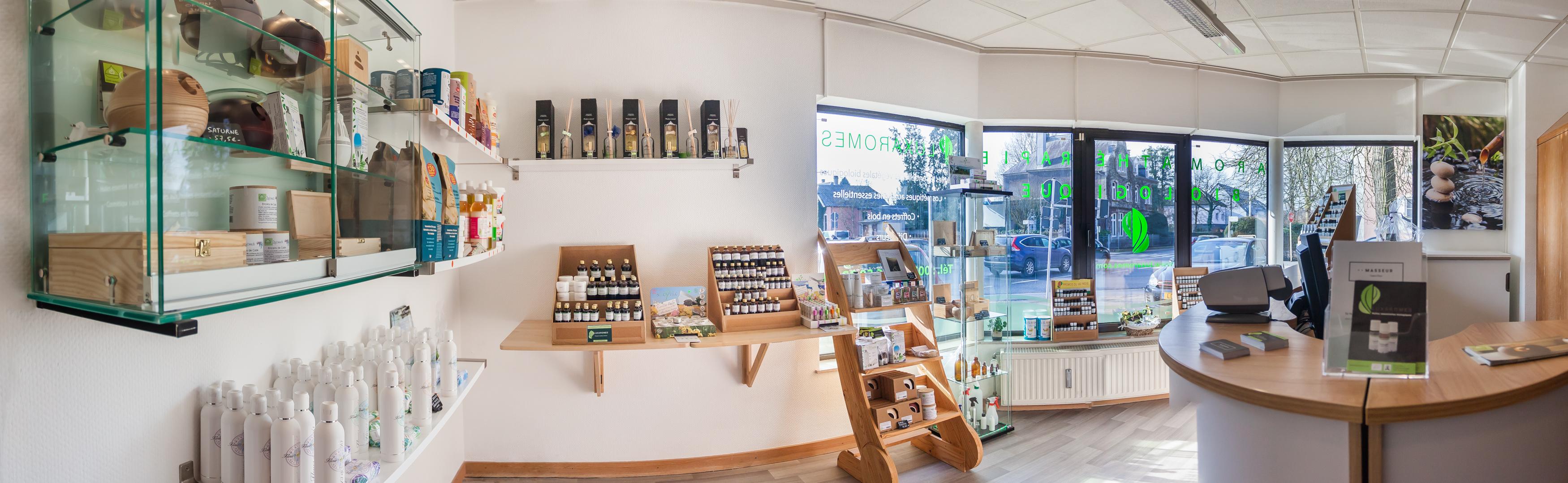 Boutique Luxaromes-Aromathérapie bio: Huiles essentielles, végétales, hydrolats, ect,...