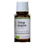 Huile essentielle d'orange-sanguine bio 10ml - Luxaromes -